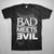 Bad Meets Evil Square Logo - Mens Black T-Shirt