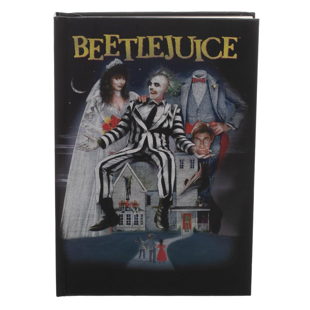 Beetlejuice Hardcover Journal Book