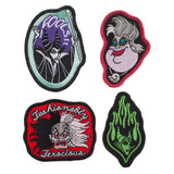 Disney Villains Iron On Patches