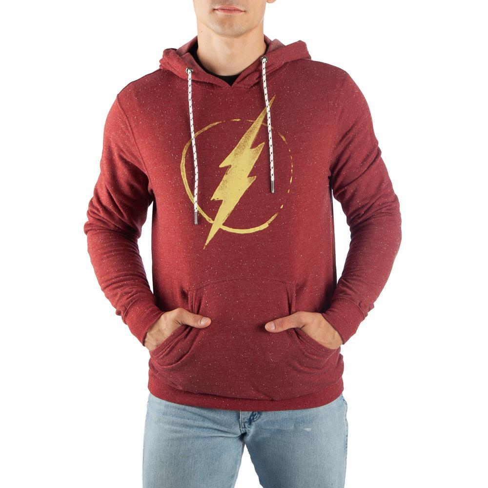 DC Comics Flash Hoodie Flash Apparel Flash Clothing Flash Hoodie Flash Gift