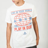 Playstation - Live In Your World T-Shirt