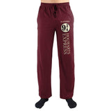Harry Potter Hogwarts Express Platform Nine and Three Quarters Print Men's Loungewear Lounge Pants