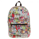 Rick & Morty Sublimated Backpack