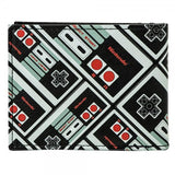 Nintendo Controller All Over Print Bi-Fold Wallet