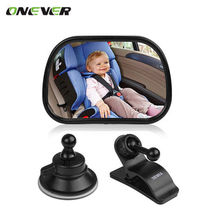 Baby Front View Mirror Car Back Seat Reverse Safety Seats Rear Ward