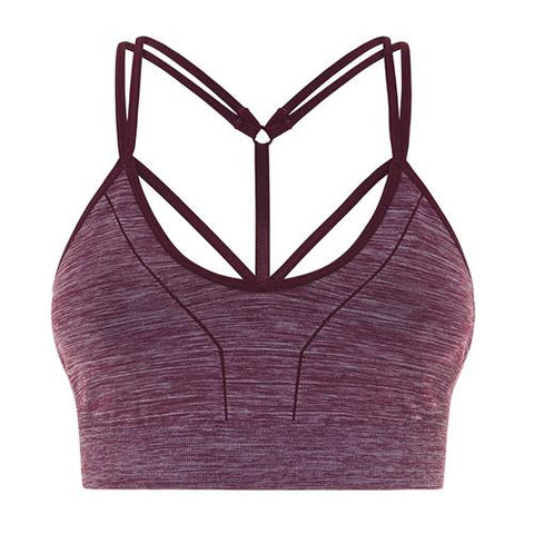 jilla serenity strappy sports bra