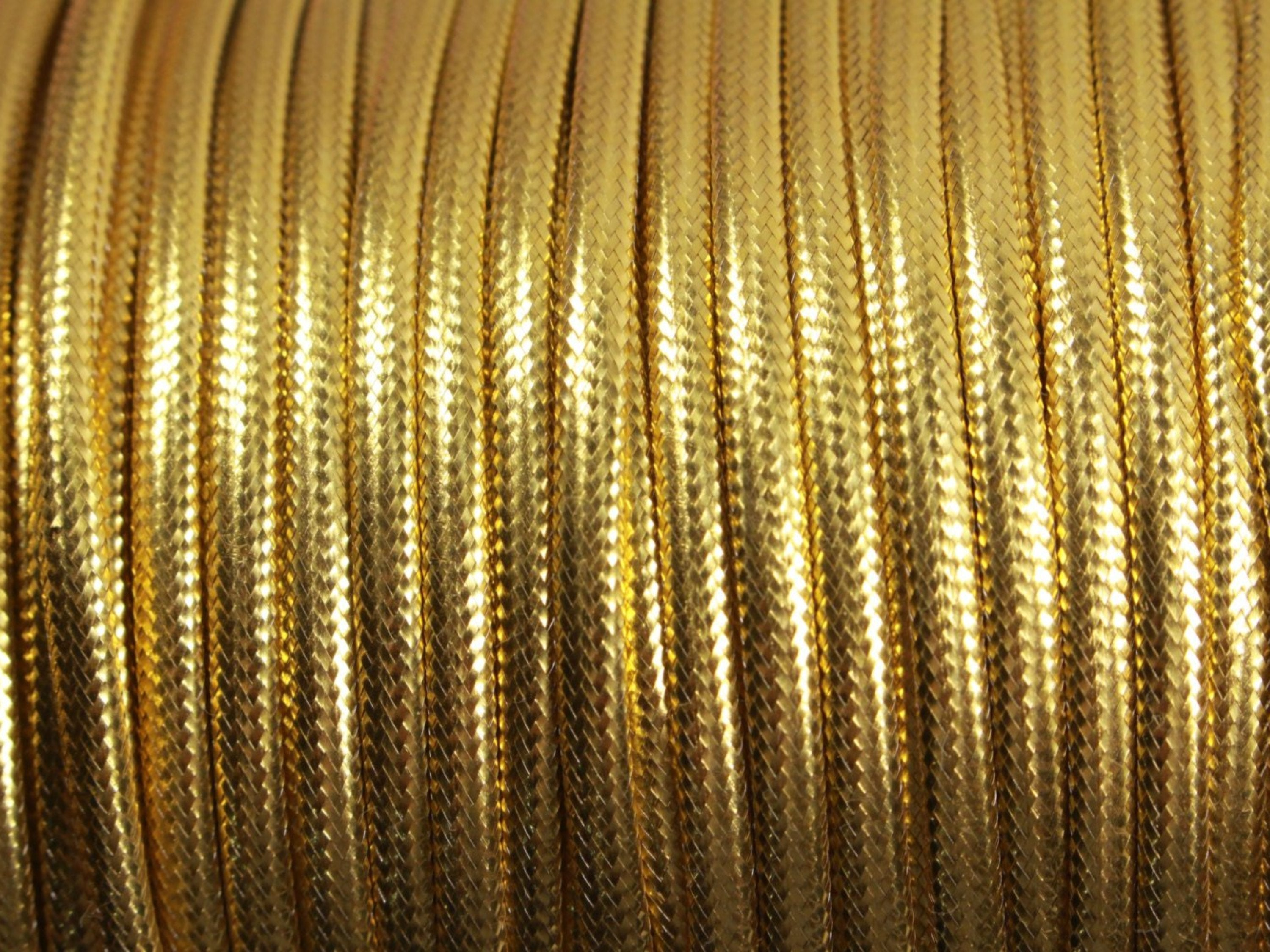 """Brown Gold Color 1//8/"""" Piping Cord edge Trim BTY Lipcord"""