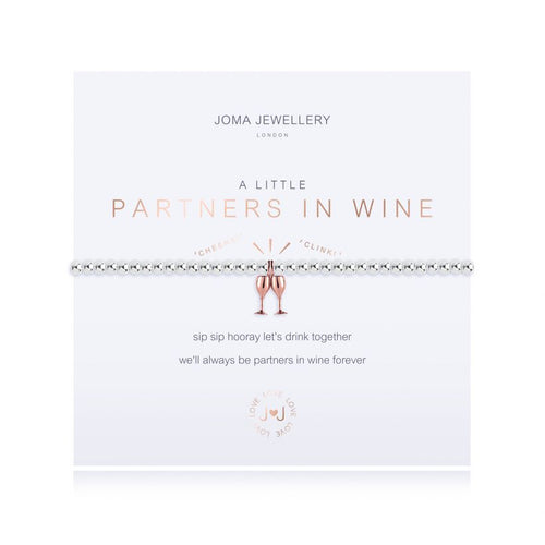 Joma Jewellery A Little Partners In Wine Bracelet