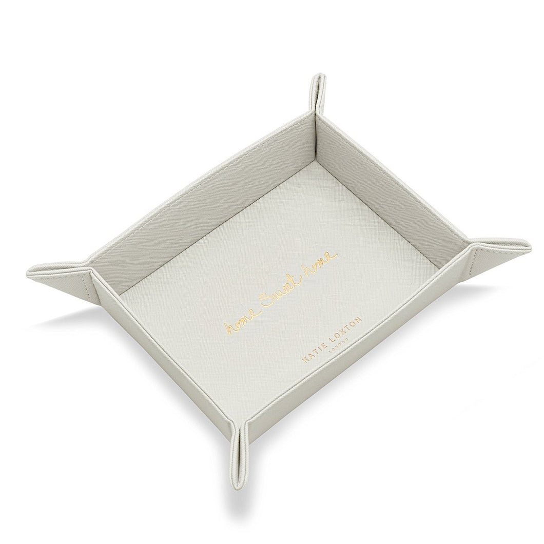 Katie Loxton Home Sweet Home Grey Storage Tray