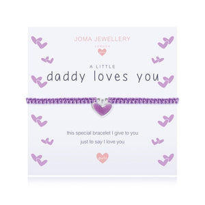 Joma Jewellery A Little Daddy Loves You Girls Bracelet