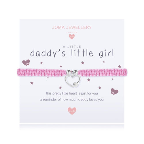 Joma Jewellery A Little Daddy's Little Girl Bracelet