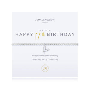 Joma Jewellery A Little Happy 17th Birthday