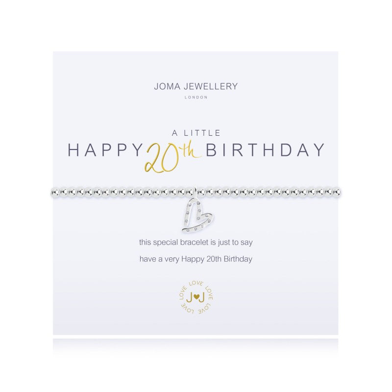 Joma Jewellery A Little Happy 20th Birthday