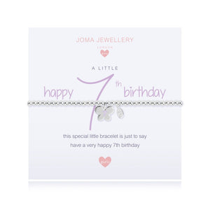 Joma Jewellery A Little Happy 7th Birthday Girls Bracelet