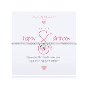 Joma Jewellery A Little Happy 8th Birthday Girls Bracelet