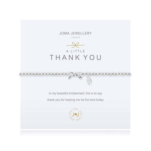Joma Jewellery A Little Thank You (Bridesmaid)Bracelet