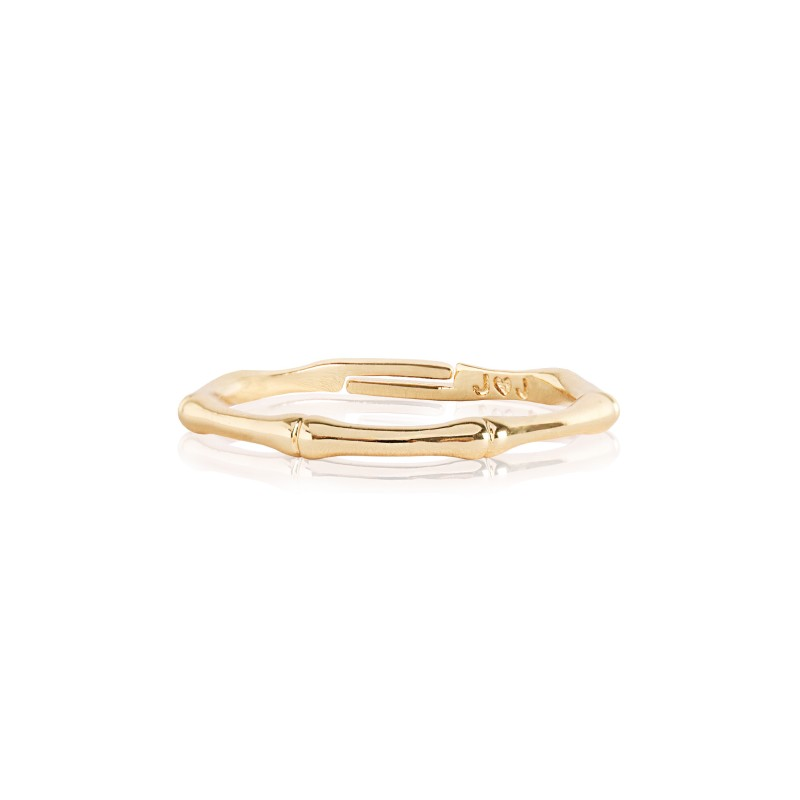 Joma Jewellery Golden Bamboo Ring