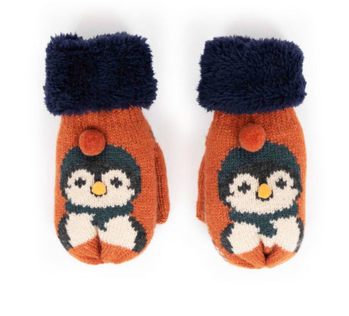 Powder - Cosy Kids Penguin Mittens