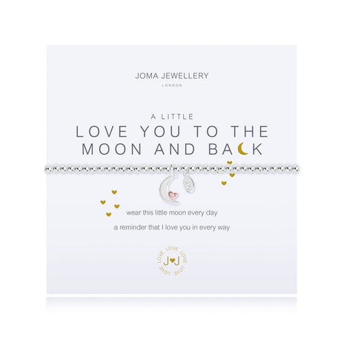 Joma Jewellery A Little I Love You To The Moon and Back Bracelet