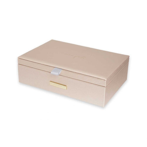 Katie Loxton Live Love Sparkle Jewellery Box Gold