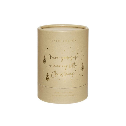 Katie Loxton Have Yourself a Merry Little Christmas Candle