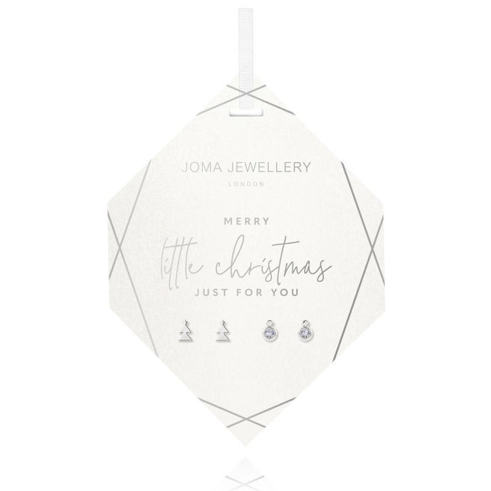 Joma Jewellery Bauble Earrings Set | Merry Little Christmas