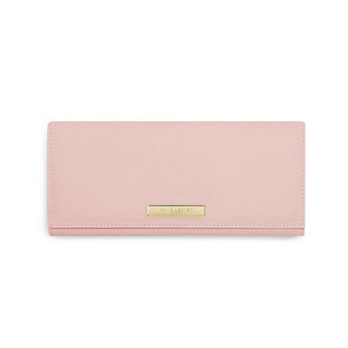 Katie Loxton Soft Pebble Jewellery Roll Pink