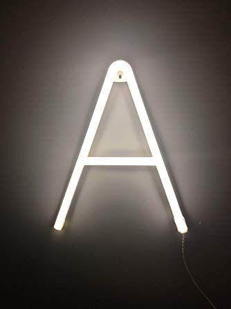 Smiling Faces Neon LED Letters