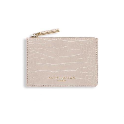 Katie Loxton Celine Croc Large Coin Purse - Oyster