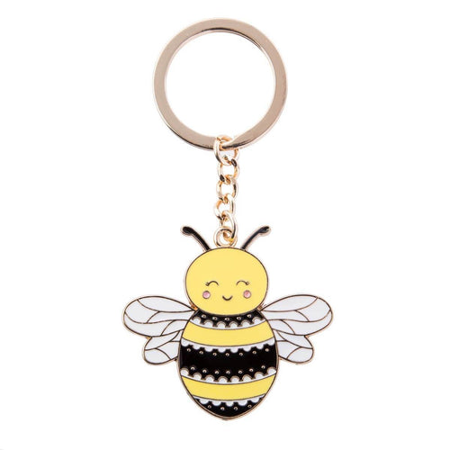 Sass and Belle Queen Bee Enamel Keyring