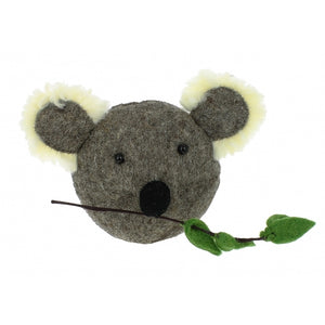 Fiona Walker England Mini Koala Head Wall Hanging