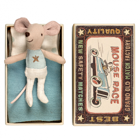 Maileg Little Brother Matchbox Mouse