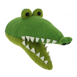 Fiona Walker Mini Crocodile Head Wall Hanging