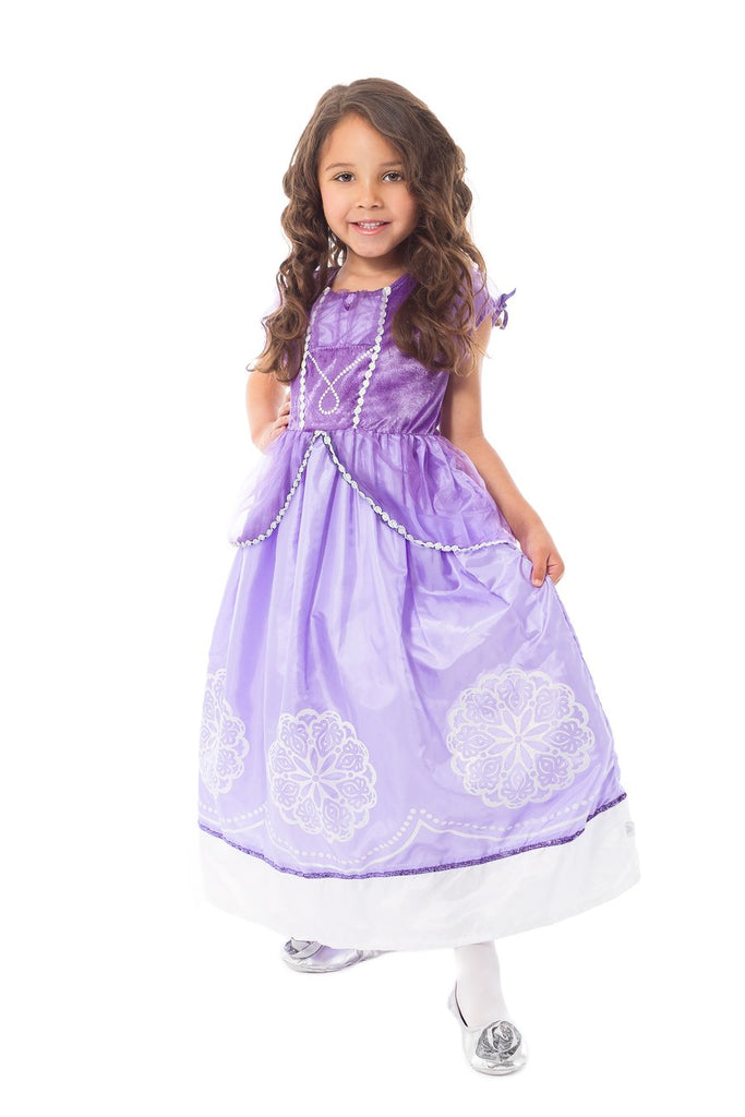 Little Adventures - Purple Amulet Princess Dress