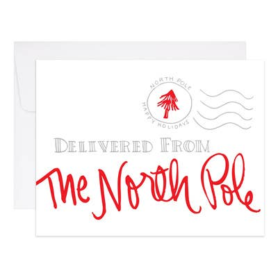 9th Letter Press - North Pole