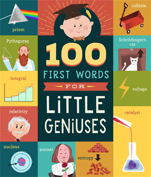 Familius, LLC - 100 First Words for Little Geniuses