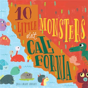 Familius Books - 10 Little Monsters Visit California