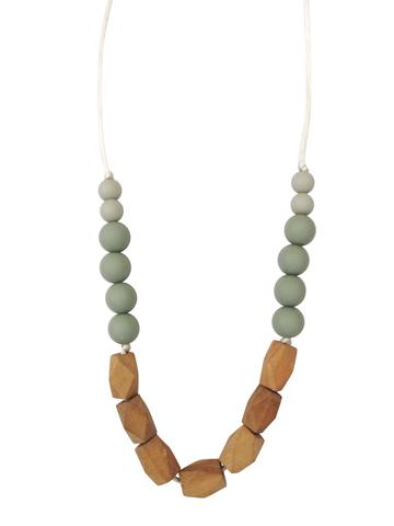 Chewable Charm - The Harrison Teething Necklace - Succulent