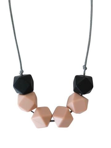 Chewable Charm - The Jameson - Nude Teething Necklace