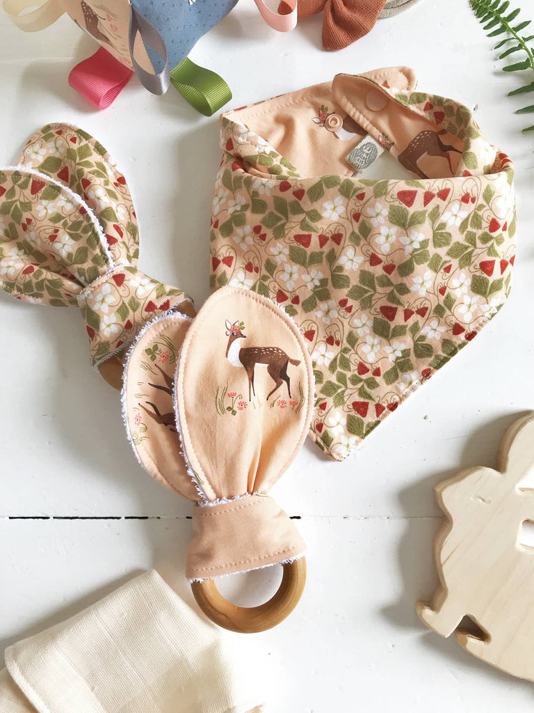 The Bird & Elephant - Woodland Ears Teether Toys