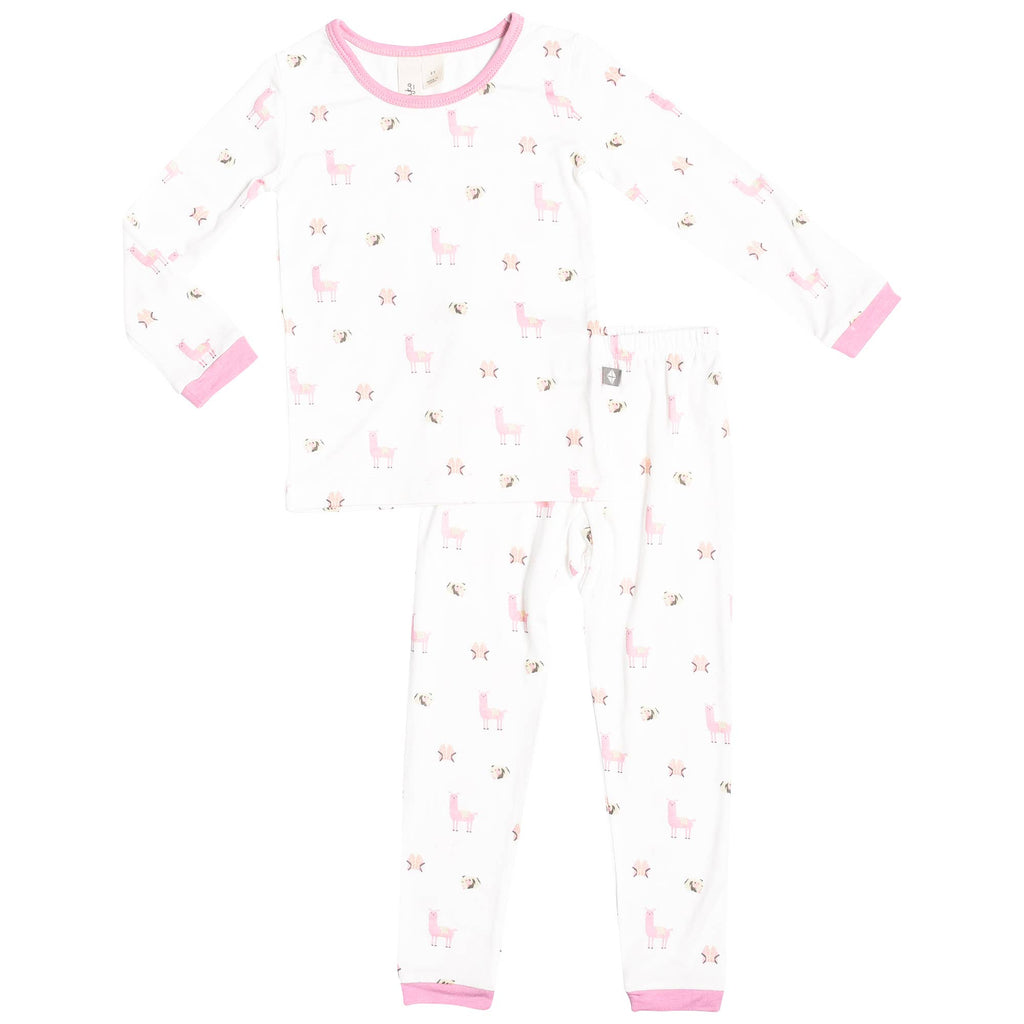 Kyte BABY - Printed Toddler Pajamas in Peruvian