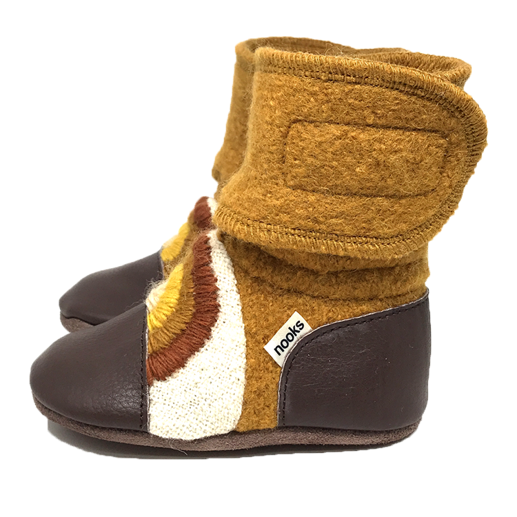 Nooks Design - Chase the Sun Wool Booties