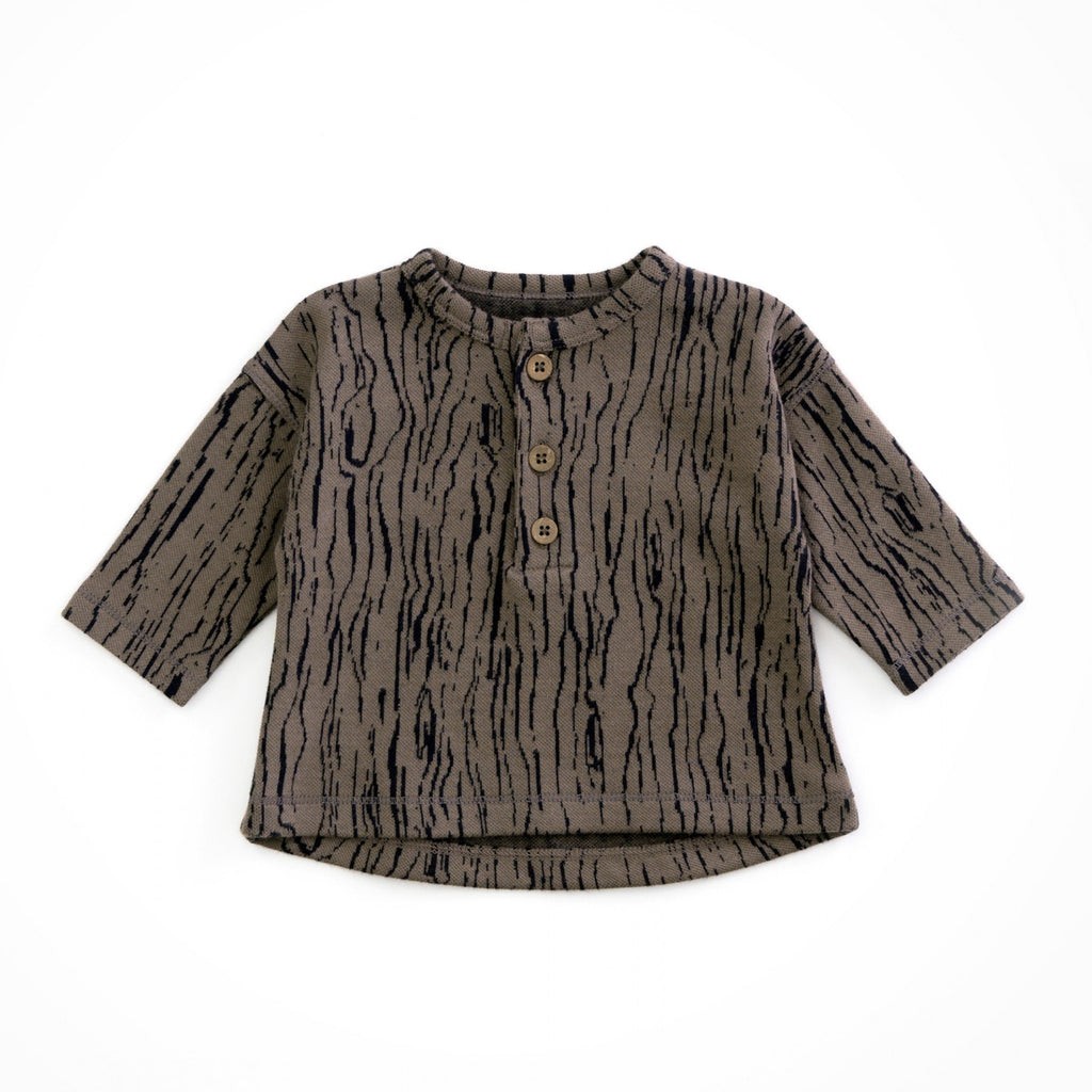 Play Up Organic Jacquard Sweater