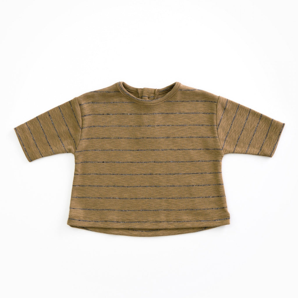 Play Up Organic Cotton Striped T-Shirt