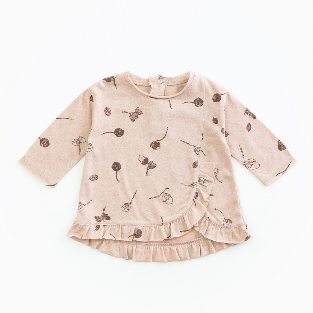 Play Up Organic Cotton Long Sleeve with Acorns