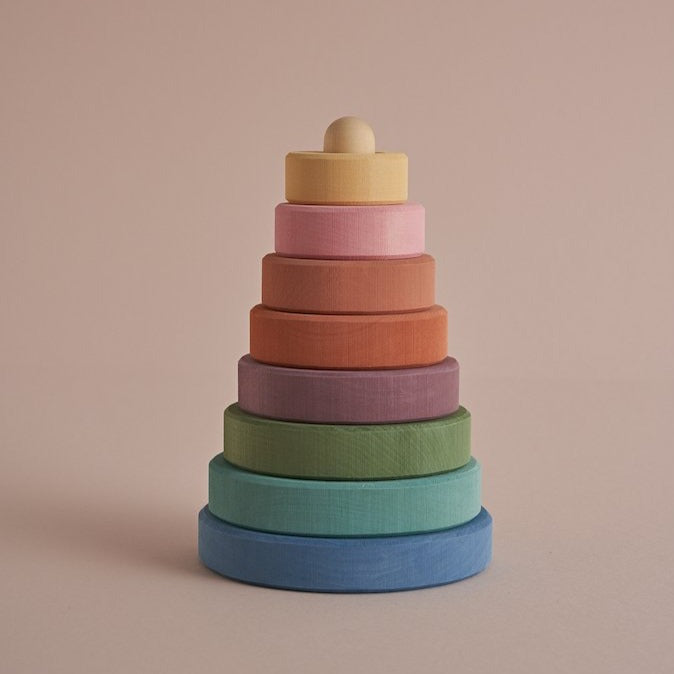 Raduga Grez - Pastel Earth Stacking Tower