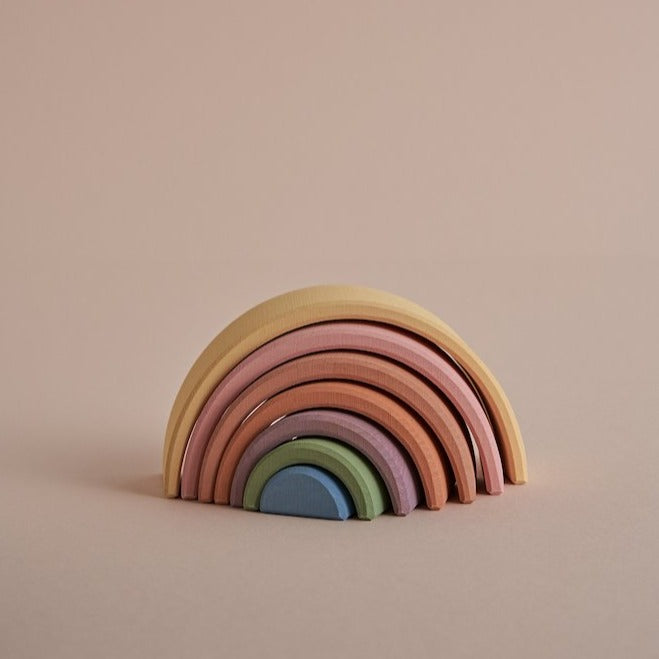 Raduga Grez - Arch Stacker in Pastel Rainbow