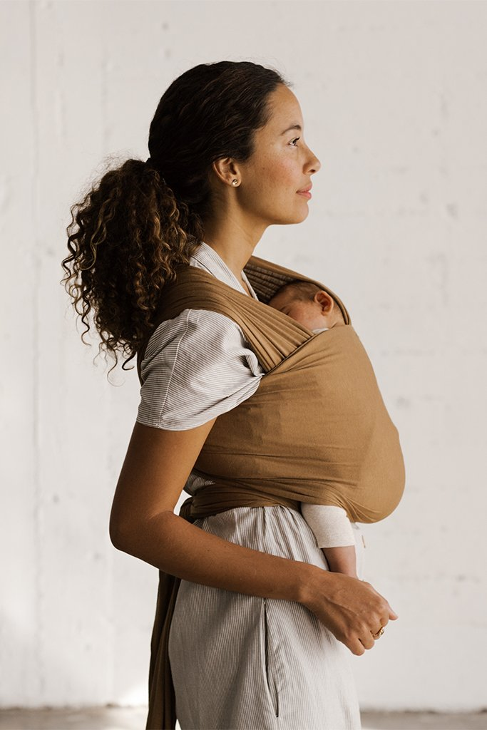 Solly Baby Wrap Carrier - Camel