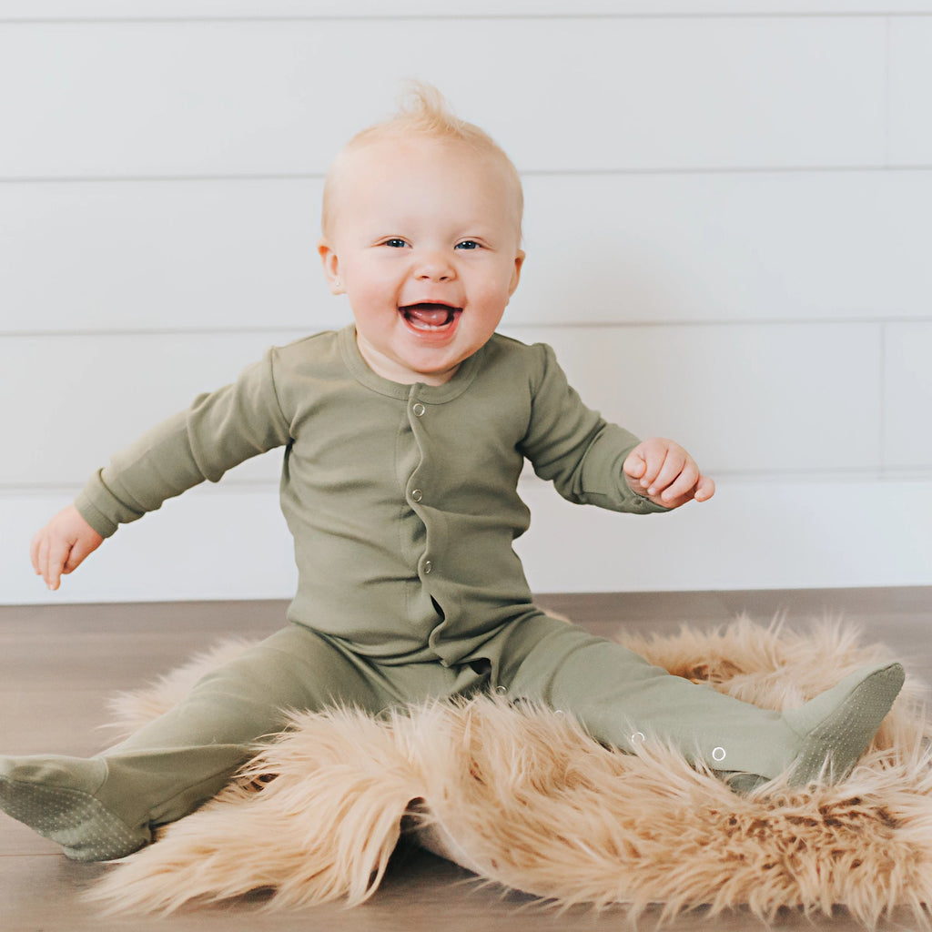 L'ovedbaby Organic Footed Overall
