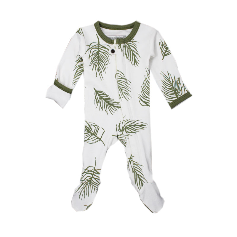L'ovedbaby Organic Zipper Footed Overalls (more colors)